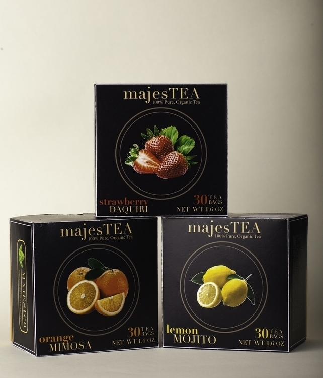 majesTEA Packaging Design - graphicdesign - jessicaredmond | ello