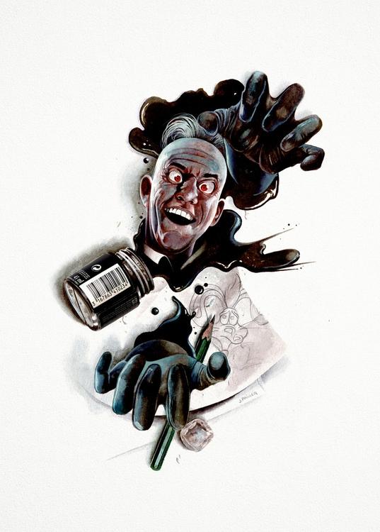 Judge Doom. Horror Genesis Coll - jeremypailler | ello