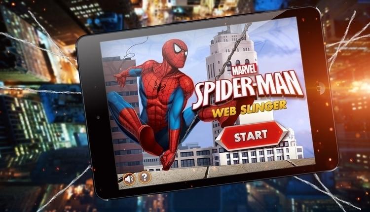 SpiderMan - Web Slinger HTML5 g - davidebianca-4059 | ello