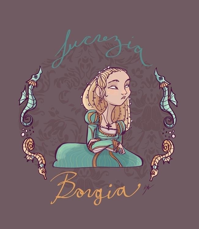 Lucrezia Borgia. Daughter Pope  - katiagrifols | ello