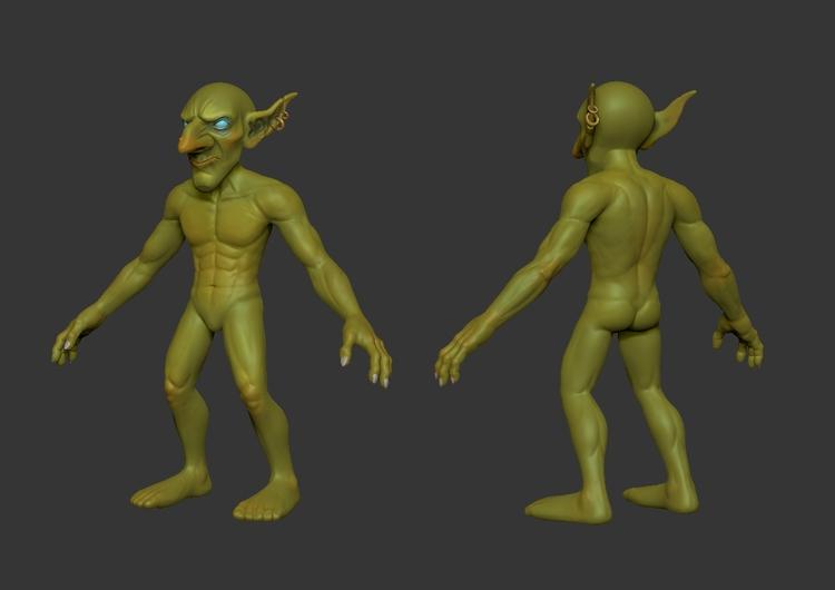 Goblin | WIP - bernardocristovao | ello