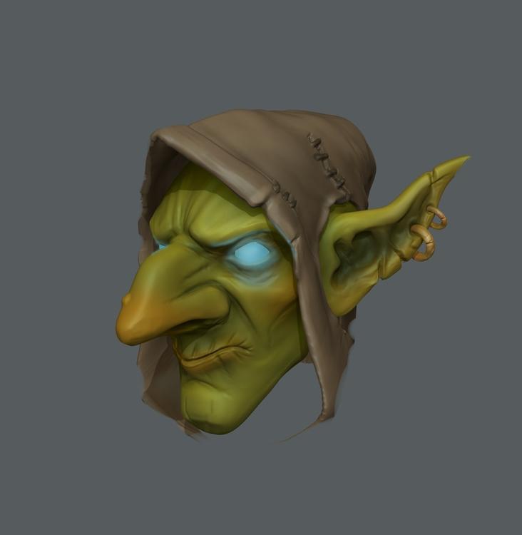 Goblin Head  - bernardocristovao | ello