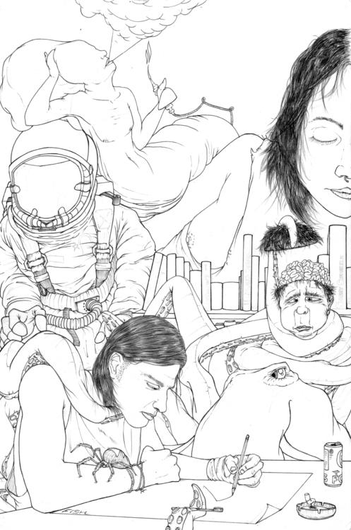 sketchbook version - illustration - thecreativefish | ello
