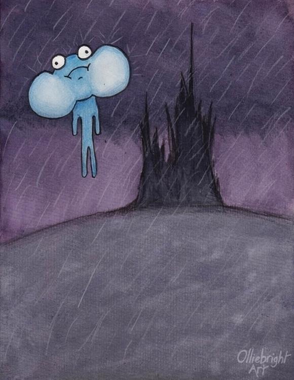 Float - cartoon, illustration, float - olliebright | ello