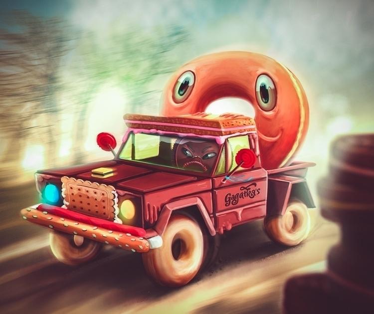 Donut wanted hitch ride predict - gagatka | ello