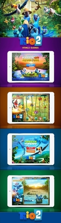 Rio 2 - HTML5 Games - rio2, movie - davidebianca-4059 | ello