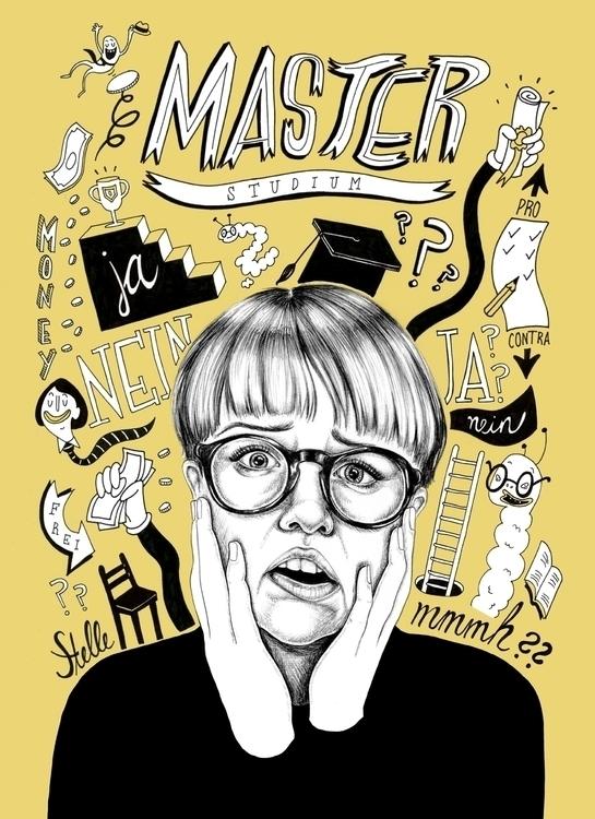 Master issue - editorialillustration - sarahmatuszewski | ello