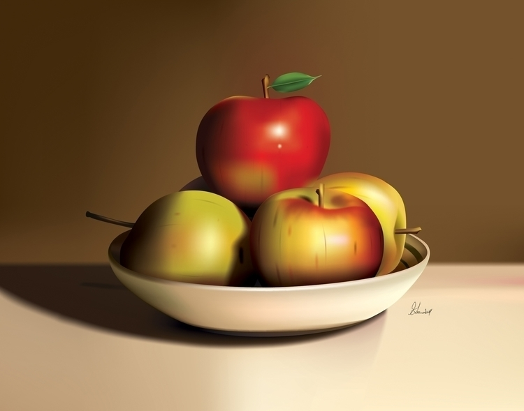 Title: Assorted Apples Adobe Il - g_marshallarts | ello