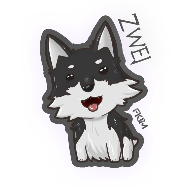 Chibi Zwei - rwby, illustration - fkim90 | ello