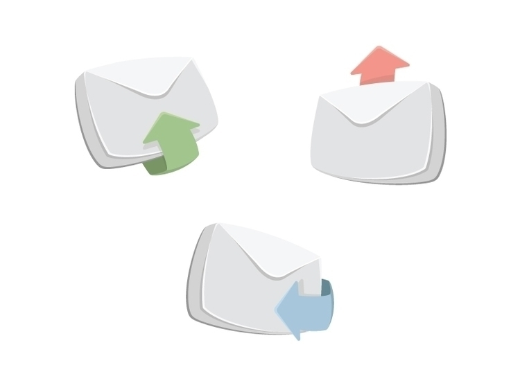 Komiko: emails - icons, email, mail - laurareen | ello