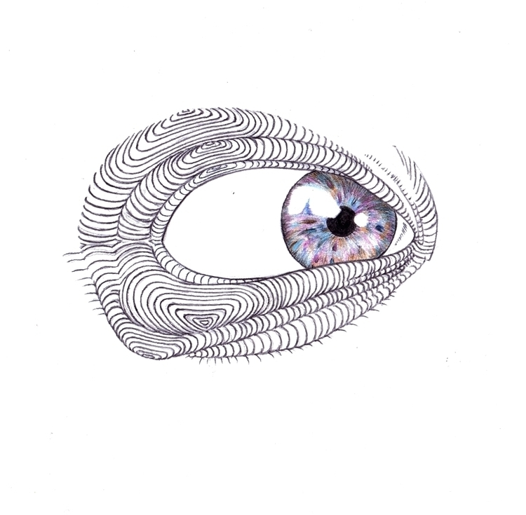Close eye - illustration - thecreativefish   ello
