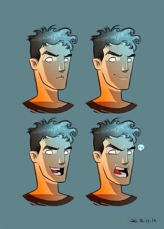 Character Study Horror Lighting - ahmedgamal-3942 | ello