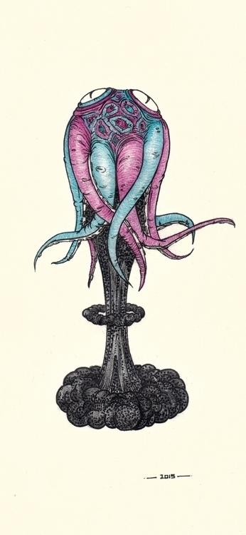 Octodoodle - illustration - thecreativefish   ello
