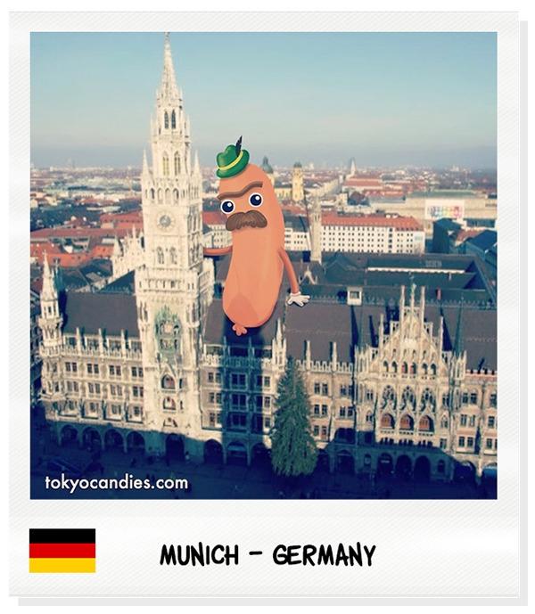 sausage, german, germany, munich - tokyocandies-1186   ello