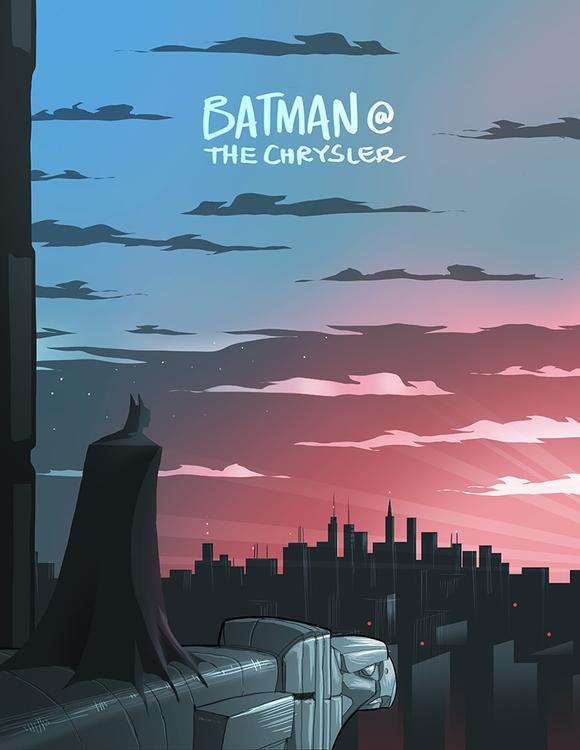 Batman Chrysler Building - ahmedgamal-3942 | ello