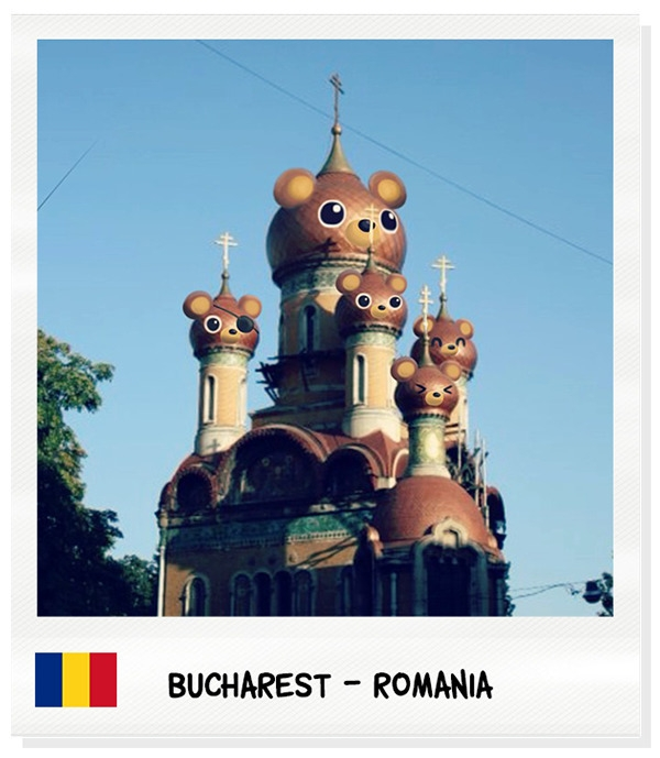 romania, church, bucharest, bear - tokyocandies-1186 | ello