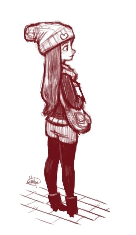 sketch worked weekend, hope dra - luigil-2352 | ello