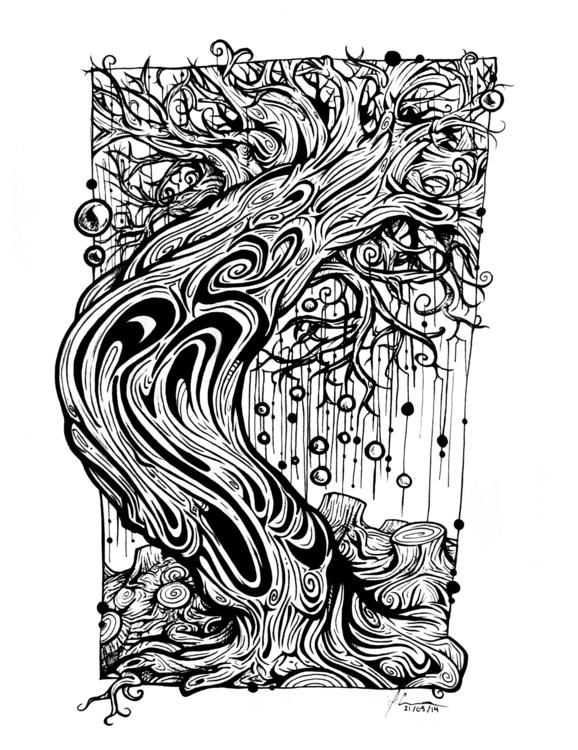 2014 Michelle Connors - illustration - mkayconnors | ello