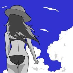 Blue Skies - illustration, digitalart - jessicaredmond | ello