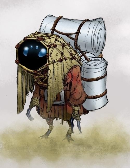Nomads - gameart, gamedev, creature - tommcweeney | ello