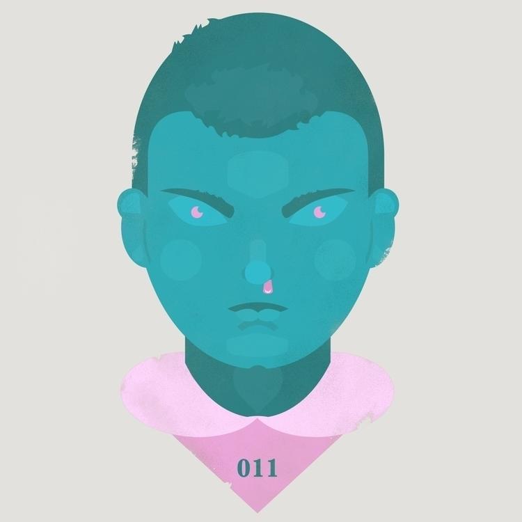 Eleven / Stranger - strangerthings - jstoutillustration | ello