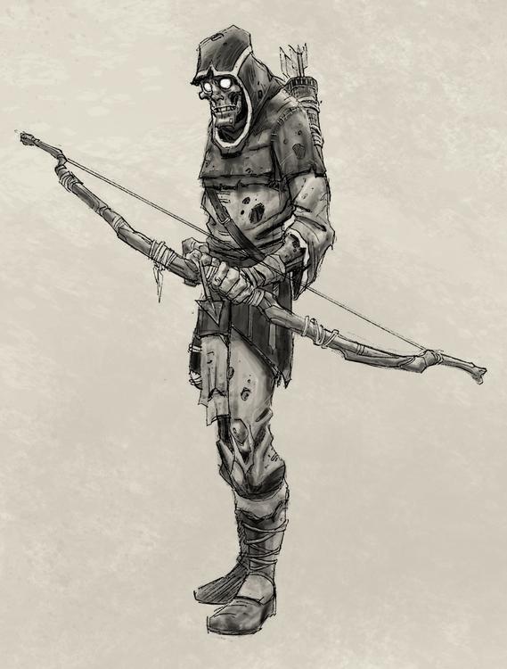Archer - gameart, gamedev, conceptart - tommcweeney | ello