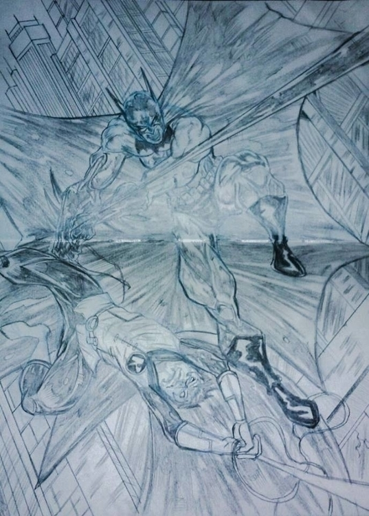 Batman Robin - drawing, conceptart - ehernand1 | ello
