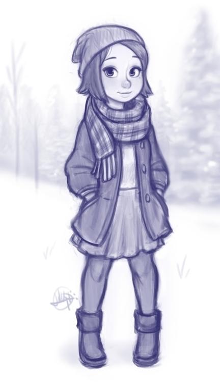 Snowy Day  - luigil-2352 | ello