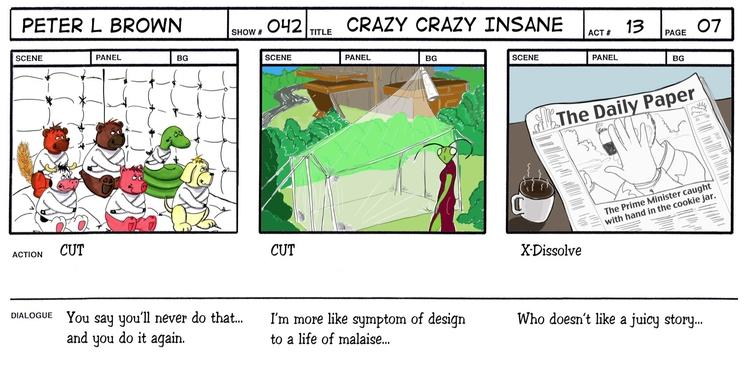Storyboard Panel spec idea anim - plbtoonist | ello
