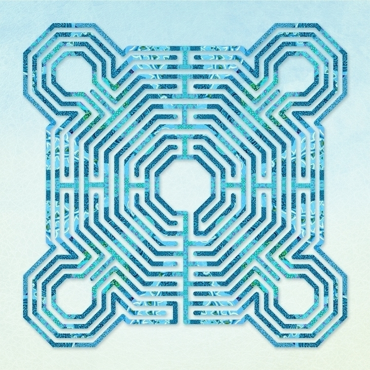 Reims Blues - labyrinth design  - nancyaurandhumpf | ello