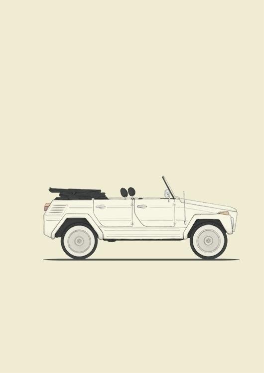 poster vw - vwthing, classiccar - poposter | ello