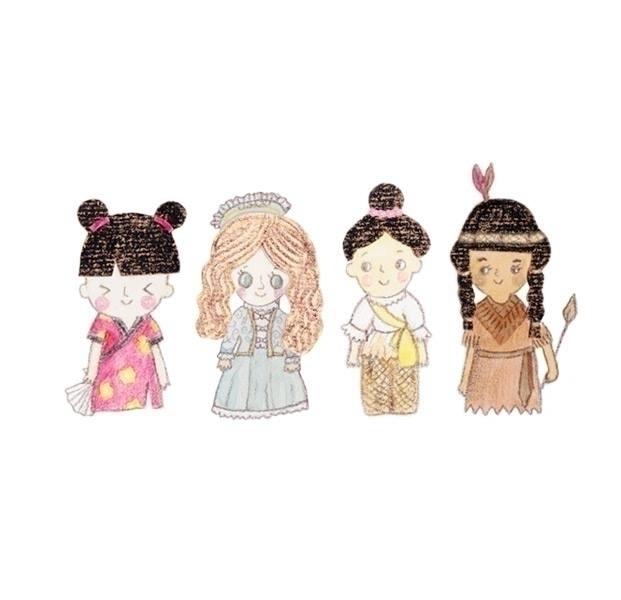 people, illustration, children'sillustration - ruedeejulla | ello