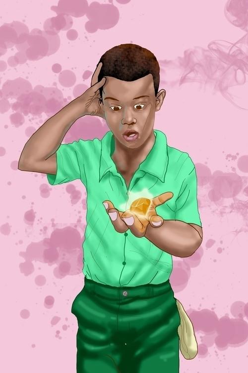 hot handle - illustration, children'sbook - sunnyefemena | ello
