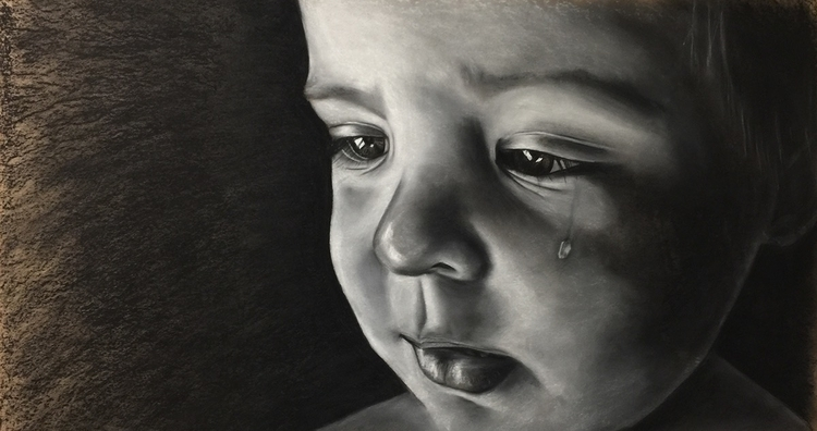 JACK Drawing eldest son crying  - coltrn1 | ello