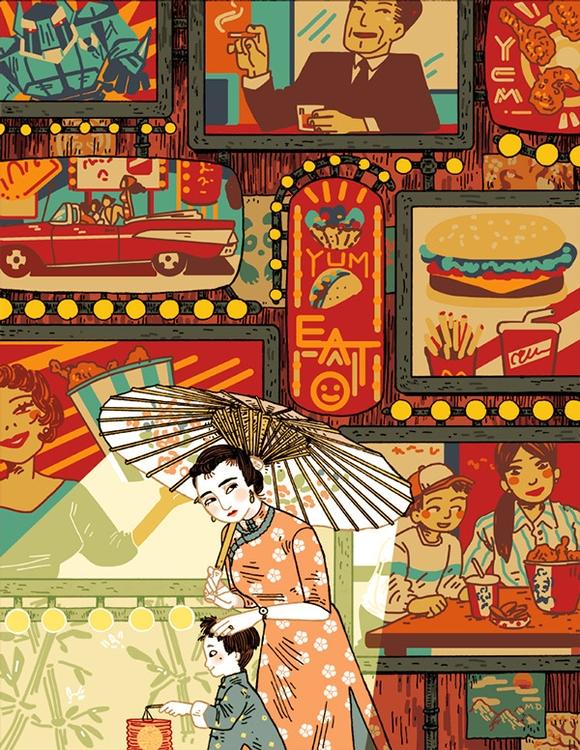 Editorial illustration - editorialillustration - meedean   ello