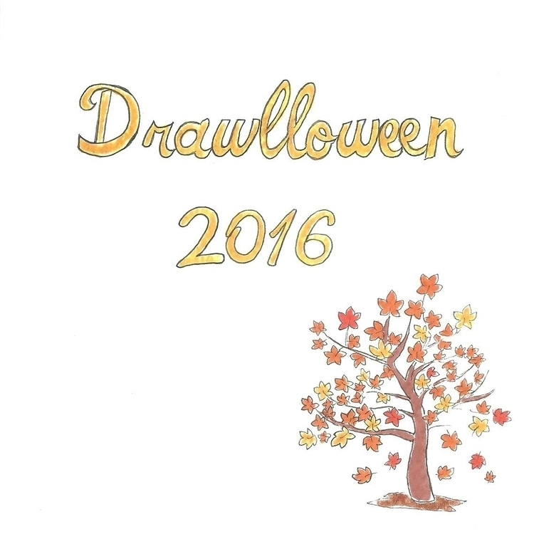 Opening Drawlloween 2016 - illustration - hotshots2000 | ello