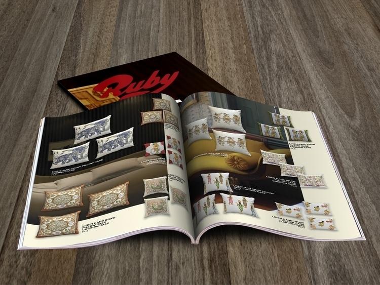 Catalog design fo Antiques Shop - mndesign | ello