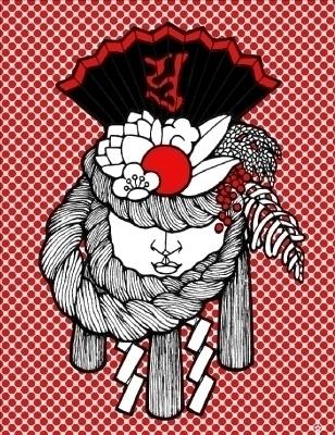 shime kazari - characterdesign - humi-1480 | ello