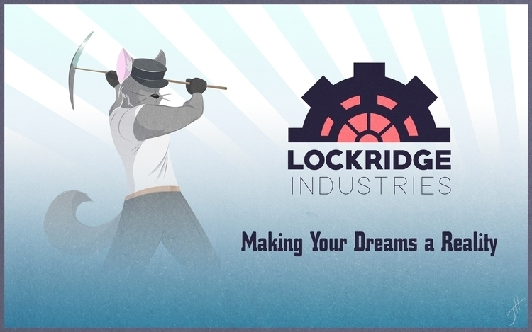Lockridge Industries Ad - illustration - fxscreamer | ello
