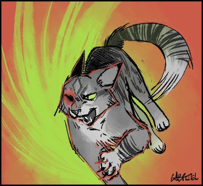 cat, cartoon, digitalart, digitalillustration - sylar-5824   ello