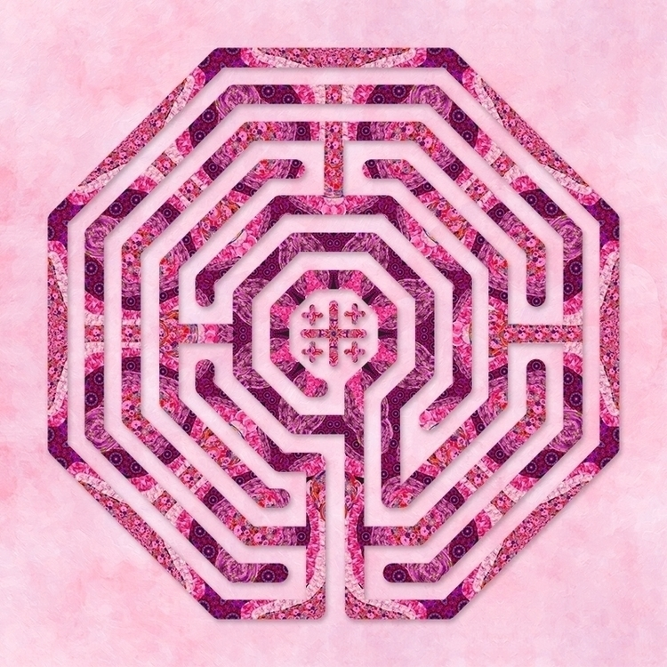 Cologne - Rose labyrinth design - nancyaurandhumpf | ello