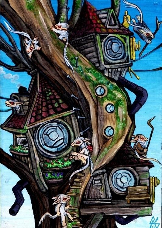 Yamayoshi Treehouse - vascobz | ello