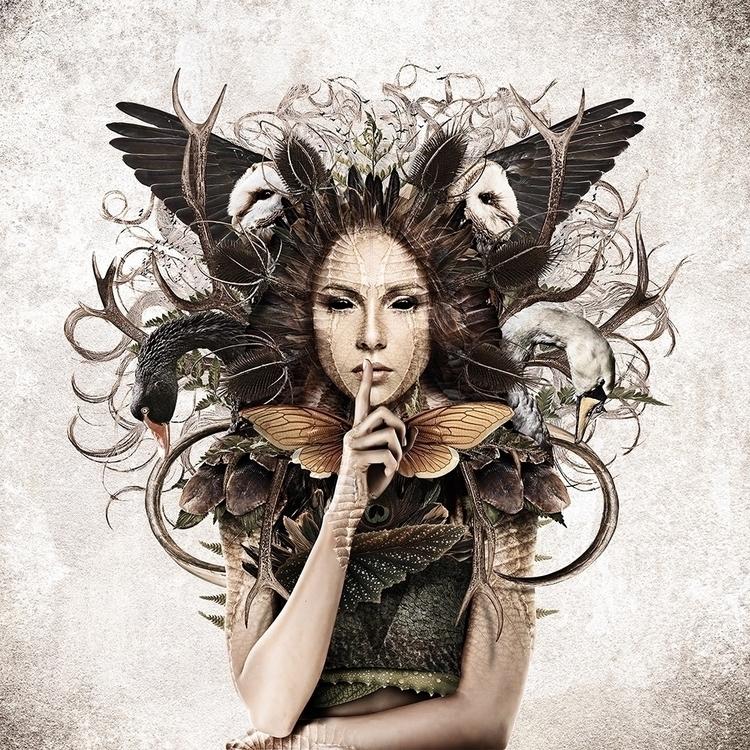 illustration, photomanipulation - abovechaos | ello
