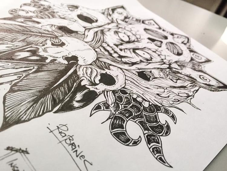 illustration, conceptart, drawing - ria-1182   ello