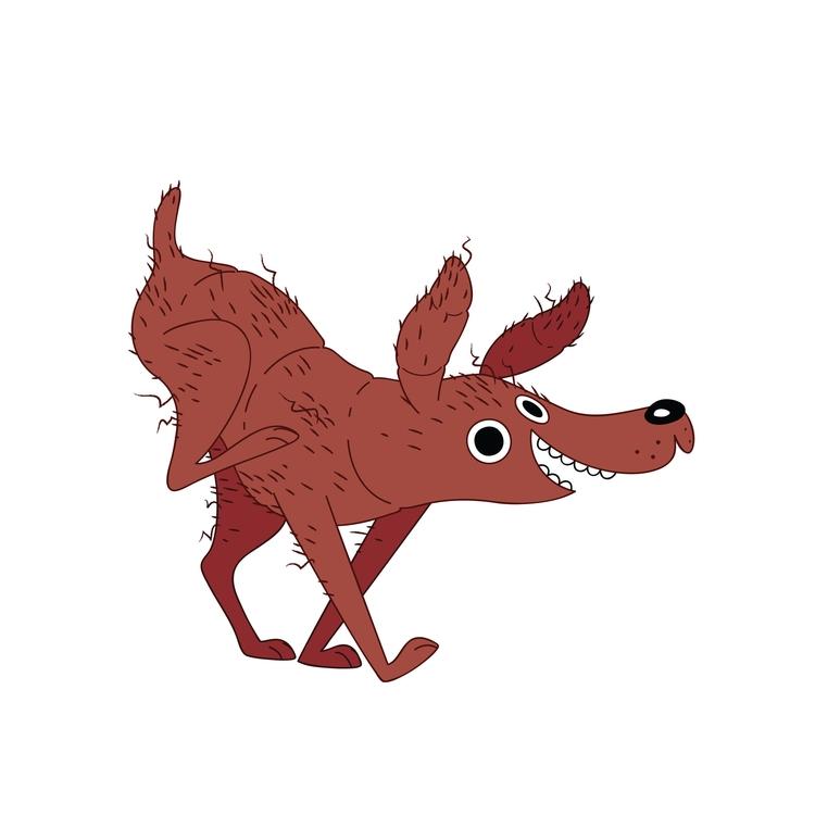Yam Dog - yam, food, dog, illustration - kaseythegolden | ello