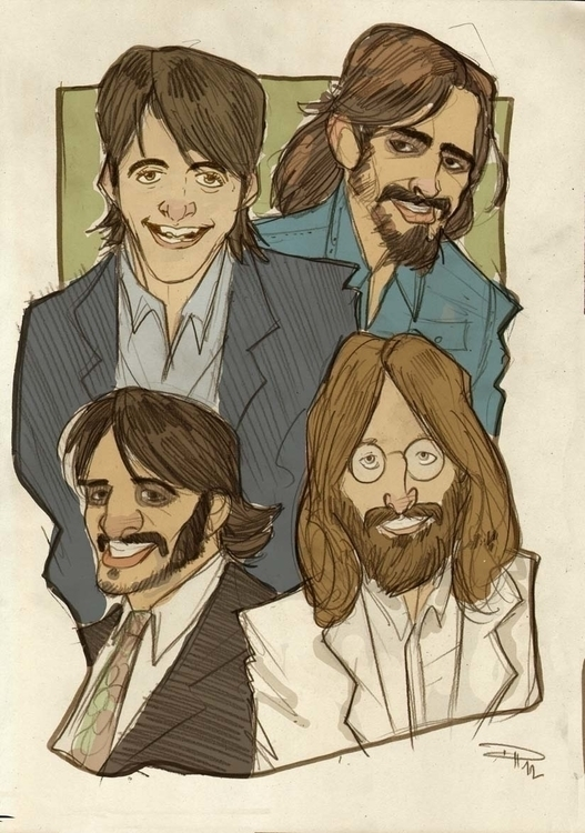 Beatles - Abbey Road era - thebeatles - denismedri | ello