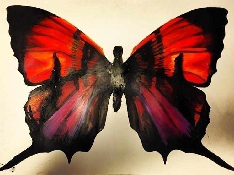 Acrylic wingspan 28 22 - acrylic - taylorfiltsch | ello