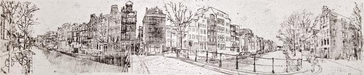 Amsterdam street view, mono-pri - edwardlodge | ello