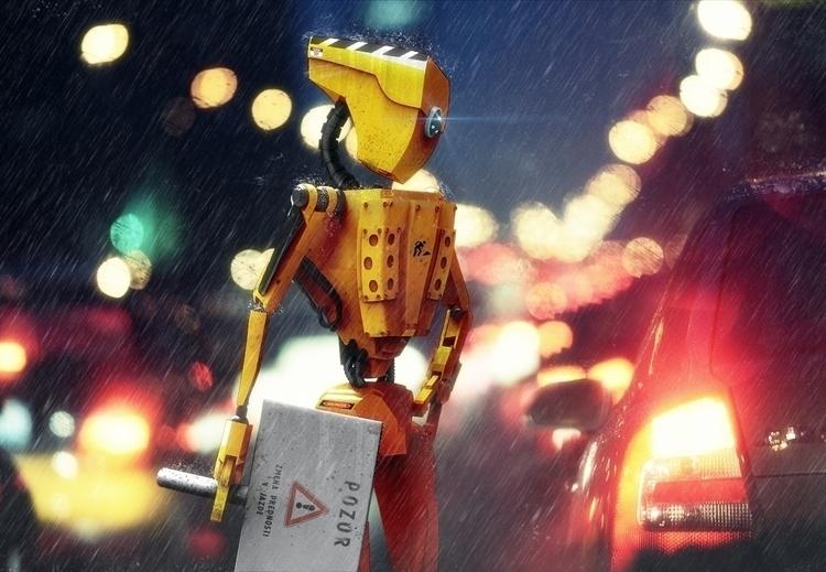 Workbot. Street maintenance 206 - dubcoonco | ello