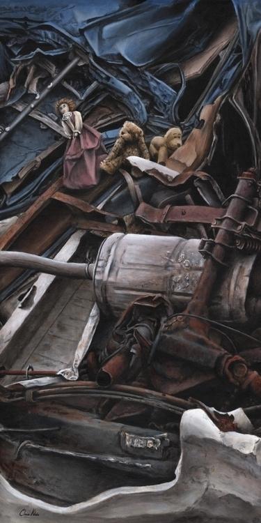 Begining Great Adventure - painting - chrisklein | ello